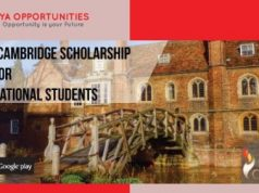Gates Cambridge Scholarship 2020 for International Students [Fully-funded]