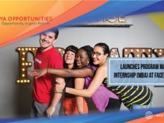 Launches Program Manager Internship (MBA) at Facebook 2020