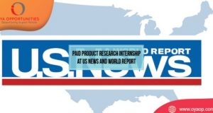 Paid Product Research Internship Programme