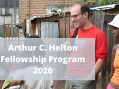 Arthur C. Helton Fellowship Program 2020 for Law Students & Professionals (up to $2,000)