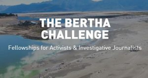 Bertha Challenge Fellowship 2020 for Activists & Investigative Journalists [Funding available]