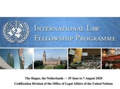 United Nations International Law Fellowship Programme 2020 in The Hague [Fully Funded]
