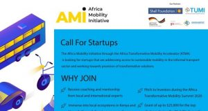 Africa Transformative Mobility Accelerator (ATMA) Programme 2020 for African Startups