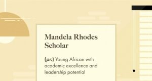 Mandela Rhodes Foundation (MRF) Postgraduate Scholarships 2021 for Young Africans to study in South Africa