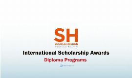 Scuola Holden Contemporary Humanities Int'l Scholarship 2021
